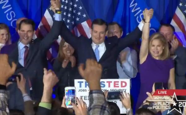Cruz Victory Speech Wisconsin Heidi Walker