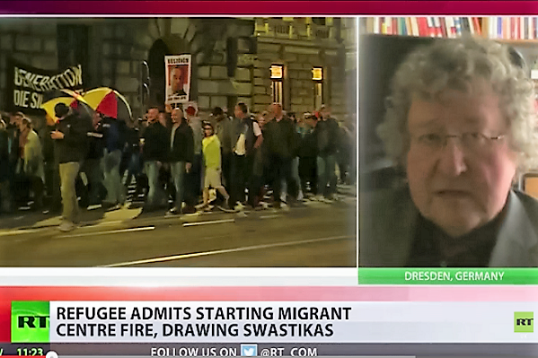 Germany refugee sets fires and blames far right