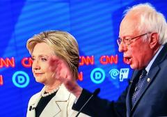 Hillary Clinton Bernie Sanders Dem Debate 4-14-2016
