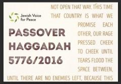 JVP Passover Haggadah 2016 w border