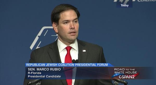 Marco Rubio at RJC December 2015