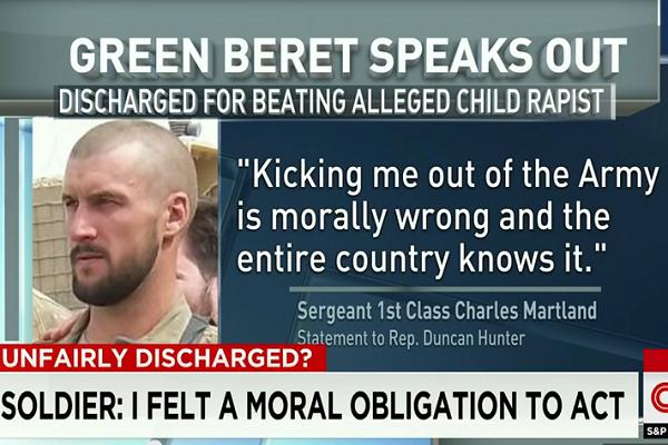 Martland statement on CNN