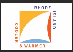 Rhode Island Cooler and Warmer Logo w Border
