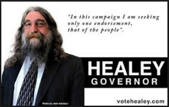 Robert Healey Vote Governor