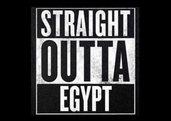 Straight Outta Egypt w border