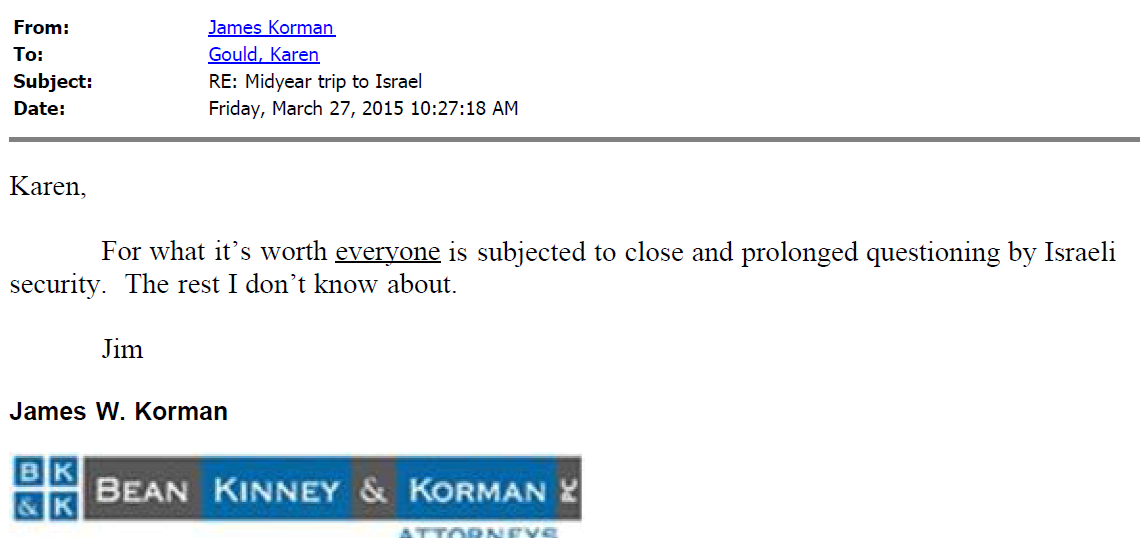 VSB Email 3-27-2015 1027 Korman Everyone Subject to Search