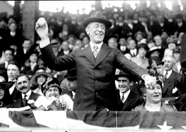 Wilson_opening_day_1916
