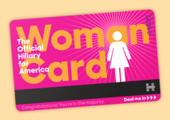hillary clinton democratic primary president scandal woman card sexism