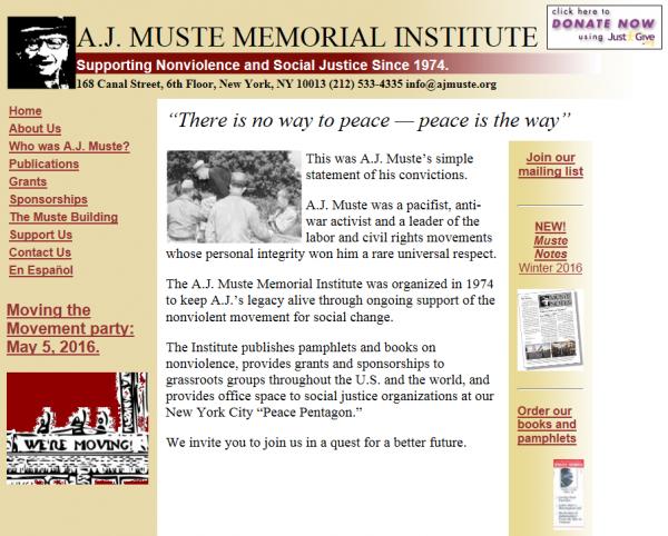 AJ Muste Foundation