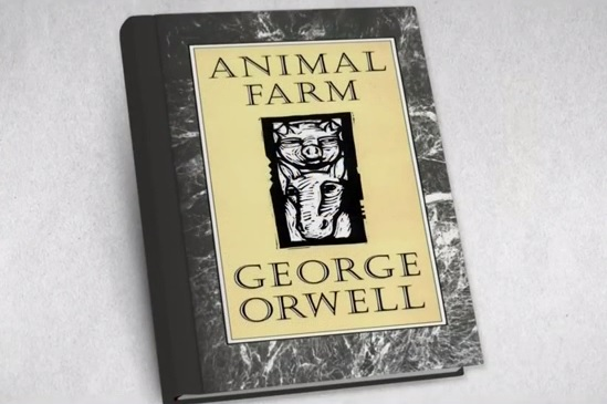 a mock of communism in animal farm by george orwell Power corrupts, but absolute power corrupts absolutely and this is eloquently proved in george orwell's novel 'animal farm' in this satirical fable, orwell uses his allegorical farm to candidly illustrate the corruptive nature of power and to symbolise the communist system in the microcosm of a farmyard barn george orwell.