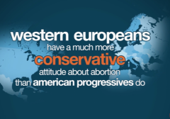 Are America's Abortion Laws as Restrictive as Western Europe's? planned parenthood pro life abortion conservative liberal progressive