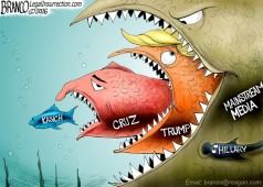 Trump vs Mainstream Media