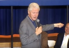 Bill Clinton heckled WV
