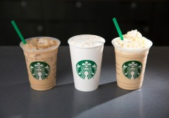 Starbucks Caramelized Honey Latte photographed on Thursday, March 17, 2016. (Joshua Trujillo, Starbucks)