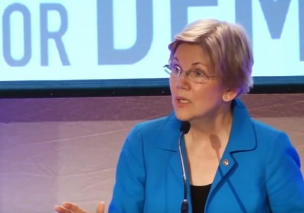 Elizabeth Warren Money Grubber