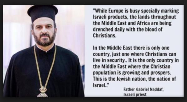 Gabriel Naddaf, Christians Thrive in Israel