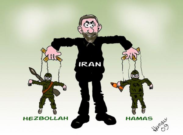 Iran and Hamas linked