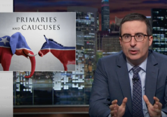 John Oliver Dives into %22Erratic Clusterf*ck%22 of American Primary System