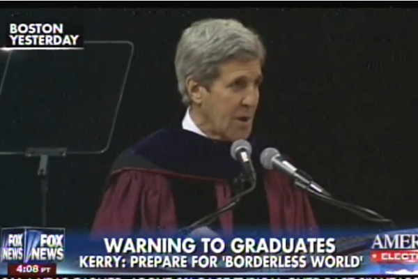 Kerry NU commencement address