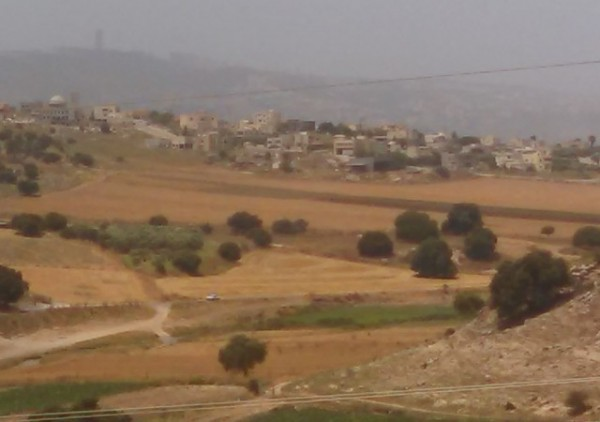 Khawaled Village View from School
