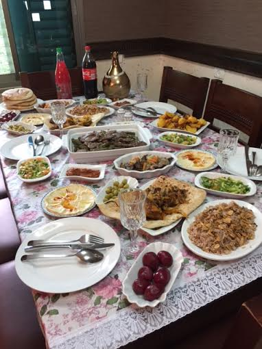Khawaled lunch