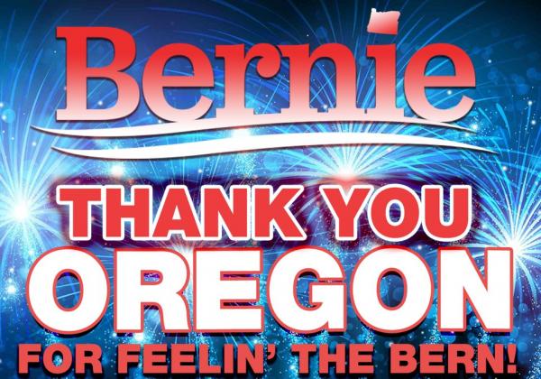 LI #40 Oregon Sanders Win