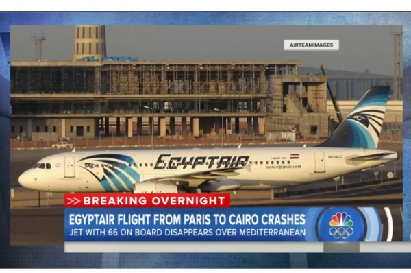 LI #41 EgyptAir Flight