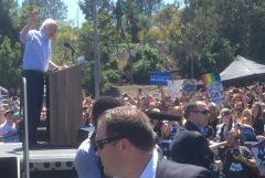 LI #46 Bernie Sanders at Podium