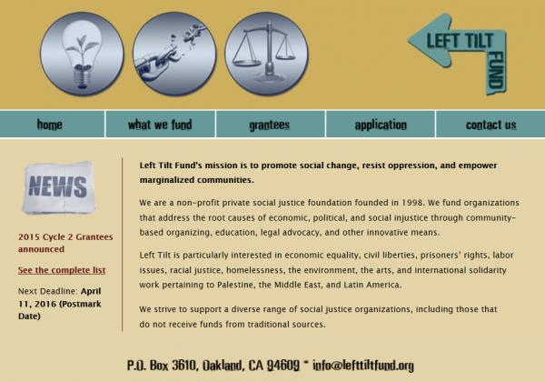 Left Tilt Fund