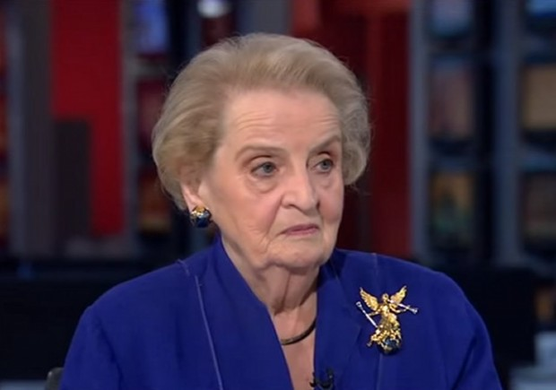 how tall is madeleine albright