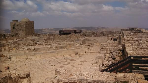 [Mount Gerizim Samaritan Ruins - Dome Not Original]