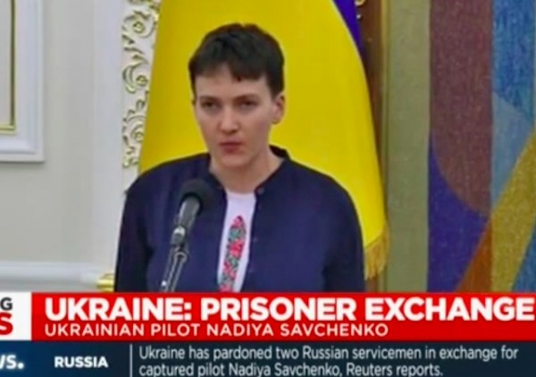 Russia Frees Savchenko