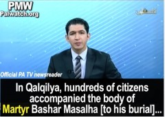 Palestinian Authority TV Celebrates Death of Taylor Force