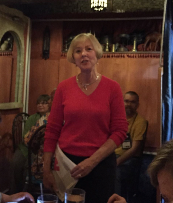 Susanne Hoder | Co-President of UMKR | Portland, Oregon | May 2016 | Credit: FaceBook