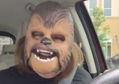 Why 'Chewbacca Lady' Became the Most Viewed Facebook Live Video Facebook Live Viral Video Social Media kohl's culture star wars