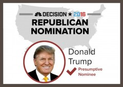 donald trump gets 1237 delegates to be the republican nominee president 2016