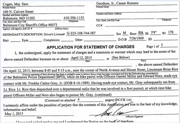 Cogen sworn charges