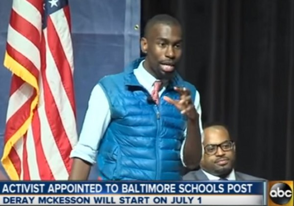 DeRay McKesson Baltimore