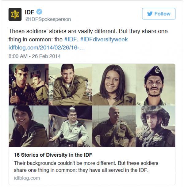 Diversity in the IDF
