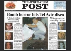 Dolphinarium disco bombing Jerusalem Post cover w border
