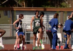 Dude Wins All-State Honors in Girls' High School Track and Field Competition