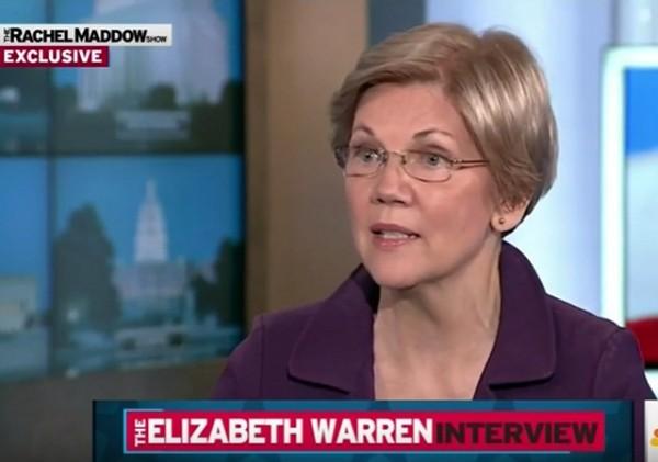 Elizabeth Warren endorses Hillary