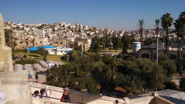 Hebron Tomb of Patriarchs View to Hebron