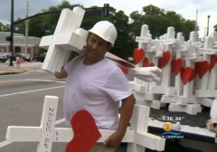 Illinois Man Builds and Delivers 49 Crosses for Orlando Terrorist Attack Victims