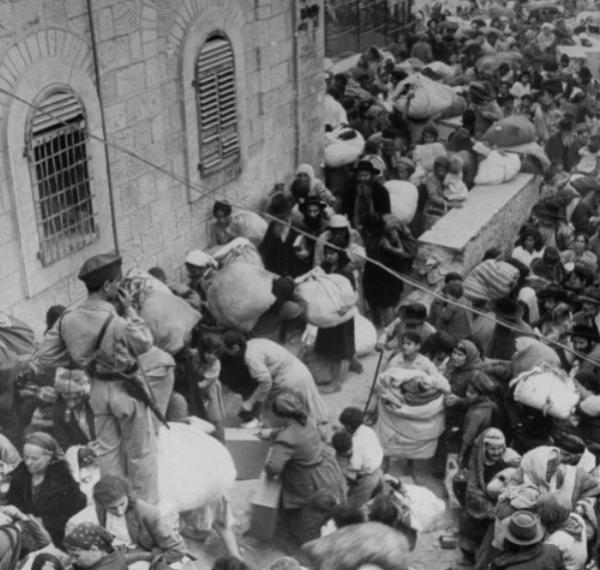 Jews Forced tp Leave Jordanian-controlled east Jerusalem | Credit: IsraelMatzav