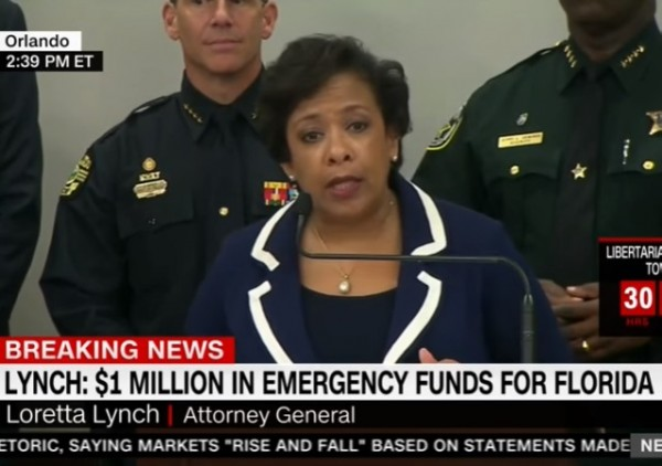 Loretta Lynch on Terror