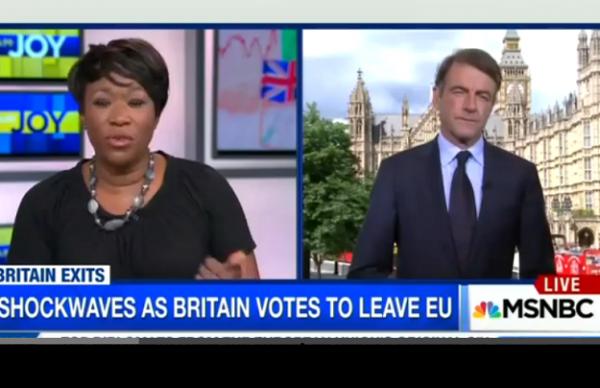 MSNBC brexit