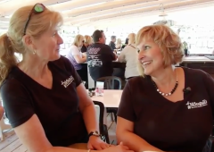 Maine's First Lady Gets Job Waiting Tables