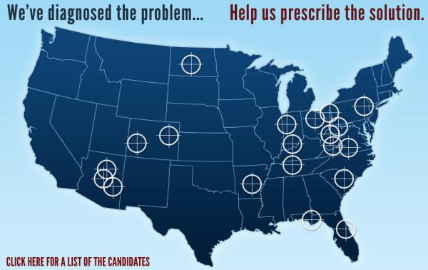 Palin Target Map
