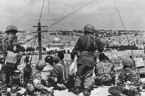 Paratroopers Ready to Break Into the Old City | Credit: Times of Israel